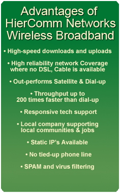 Hiercomm Advantages
